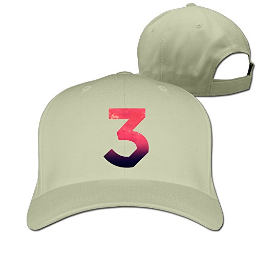 unisex-custom-chance-the-rapper-number-3-coloring-book-cotton-peaked-baseball-cap-natural