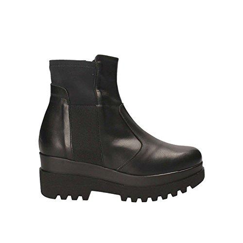 GRACE 19246 Boots Black Ankle SHOES Women qTOrq18