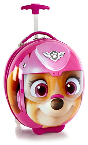 Heys America Unisex Nickelodeon Paw Patrol Circle Shape Kids Luggage Sky One Size