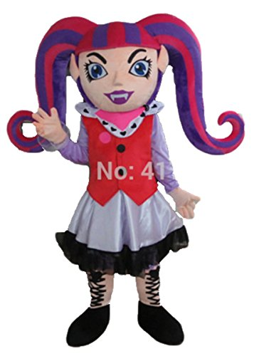 Aris Draculaura Vampire Cosplay Costume Mascot Costumes Cartoon Character Mascot Costume for Party Mascotte