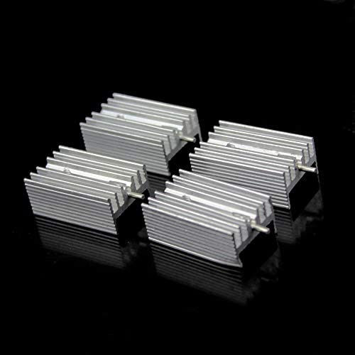20PCS TO-220 TO220 Heat Sink 21x15x11mm Cooler Cooling Heatsink Transistor Radiator Aluminum