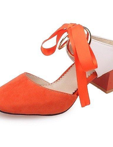 lfnlyx de zapatos de mujer gasa Chunky talón correa de tobillo/Square Toe sandalias fiesta y noche/Vestido/Casual gris - gris