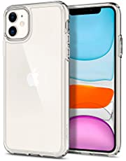 Spigen Ultra Hybrid Compatibel met iPhone 11 hoesje, Transparant anti-geel hoesje Doorzichtige pc-achterkant case Crystal Clear