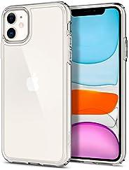 Capa iPhone 11 Spigen Ultra Hybrid Crystal Clear, Spigen, Capa Anti-Impacto, Transparente