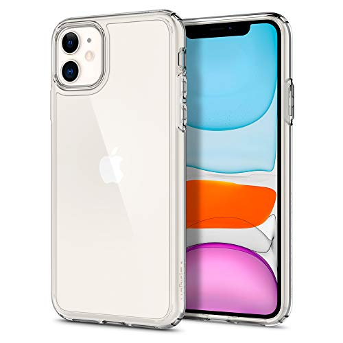 Spigen Ultra Hybrid Works with Apple iPhone 11 Case (2019) - Crystal Clear