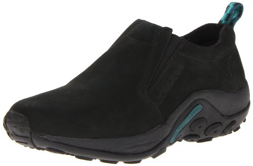 Merrell Women's Jungle Moc Nubuck Slip-On Shoe,Black,11 M US ()