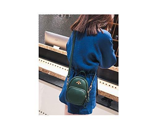 Bolso para de Verde mujer al PACD poliuretano hombro Sxd6waSfq