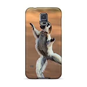 ColtonMorrill Samsung Galaxy S5 Shock Absorbent Hard Phone Case Allow Personal Design Attractive Madagascar Skin [WVP10641rfZq]