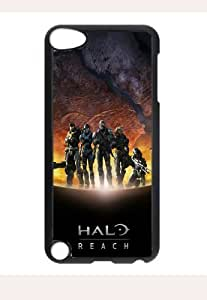 Case Cover Pvc Ipod Touch 5 Protection Design Hl7 Halo Games Hit