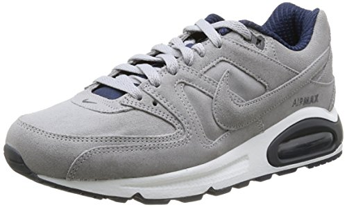 NikeAir Max Command Prm - Zapatillas de Running Hombre Gris - Gris (Wlf Gry/Wlf Gry-Drk Gry-Mdnght)