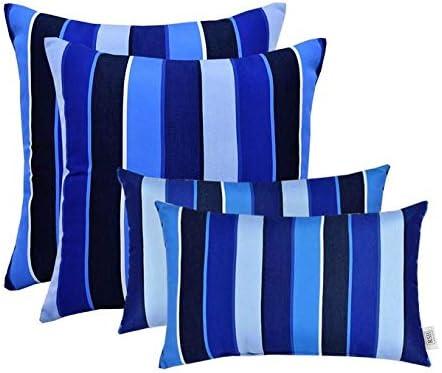 RSH D cor Indoor Outdoor Decorative Sunbrella Throw Toss Pillows Choose Color Size