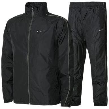 Winger para hombre Nike negro para el calentamiento de chándal ...