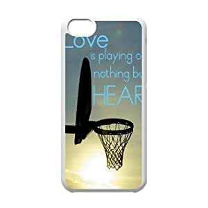basketball is life Personalized Cover Case with Hard Shell Protection for iphone 5c iphone 5c Case lxa#287641