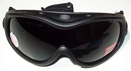 e4dc8eb4544 Amazon.com   Smoked Lens ALL Star Global Vision Goggles Fits Over ...