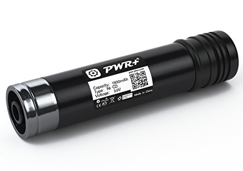 Pwr+ 3.6v Battery for Black & Decker Versapak Vp100 Vp105 Vp110 Vp142 Vp143 Vp7240; Sears-Craftsman; Pivot180 PLR36NC S100 S110: 151995-03 383900-03 387854-00 00911271000 11271 900.112713