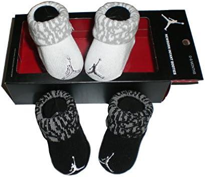 e47a9623349c Amazon.com  Nike Air Jordan Newborn Baby Booties