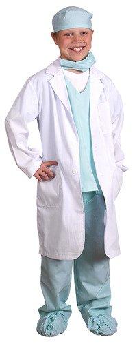 Aeromax Jr. Physician Lab Coat, Green, 8-10