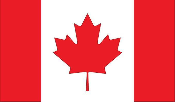 Canadian Flag Vinyl Decal Sticker # 809