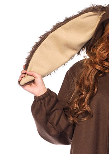 Leg Avenue Women's Lop Ear Bunny Kigurumi, Brown, Small/Medium by Leg Avenue (Image #4)