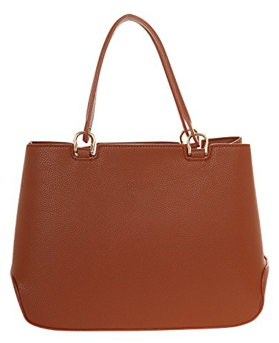 Handles Cuoio Trussardi Woman Bottalato Tote Bag Brown Tru qwfXYxaw