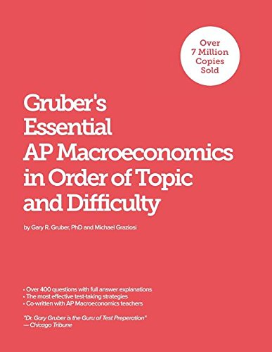 Gruber's Essential AP Macroeconomics: In Order of Topic and Difficulty