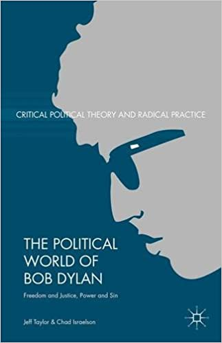 Descarga gratuita de libros en formato texto.The Political World of Bob Dylan: Freedom and Justice, Power and Sin (Critical Political Theory and Radical Practice) by Jeff Taylor PDF PDB CHM