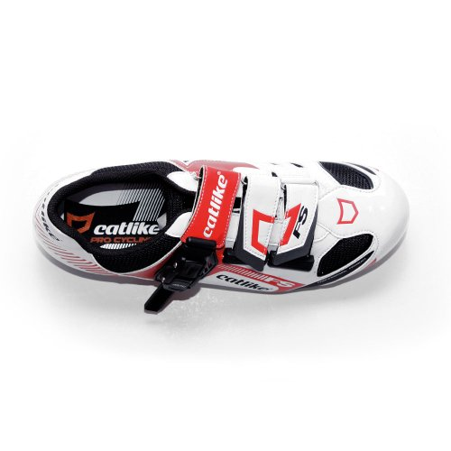 Catlike Felinus Road - Zapatillas de ciclismo unisex Blanco / Rojo