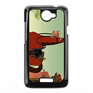 Disney Home on the Range Character Buck HTC One X Cell Phone Case Black O4P0ZY