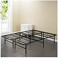 Spa Sensations Steel Smart Base Bed Frame Black, Multiple Sizes (Twin)