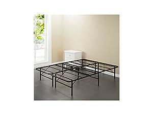 spa sensations steel smart base bed frame black multiple sizes twin kitchen dining. Black Bedroom Furniture Sets. Home Design Ideas