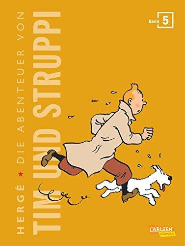 Tim und Struppi Kompaktausgabe 5 Gebundenes Buch – 23. Dezember 2014 Hergé Carlsen 3551739102 Abenteuer