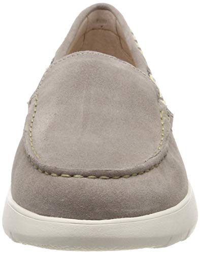 Mocassini Stonefly Velour Marrone taupe 1 Saryn loafer Donna 075 Brown FPwTt6Pa
