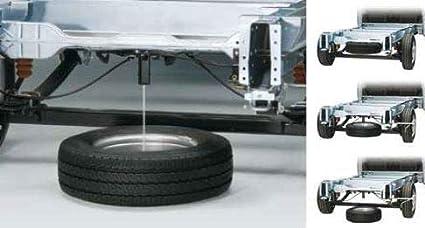 Cabrestante de rueda de repuesto original para el descubrimiento 5 L462 con características anti-robo Alambre