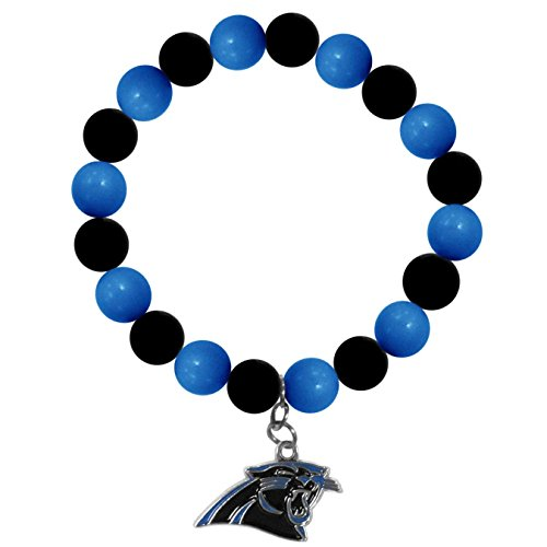 NFL Carolina Panthers Fan Bead Bracelet ()