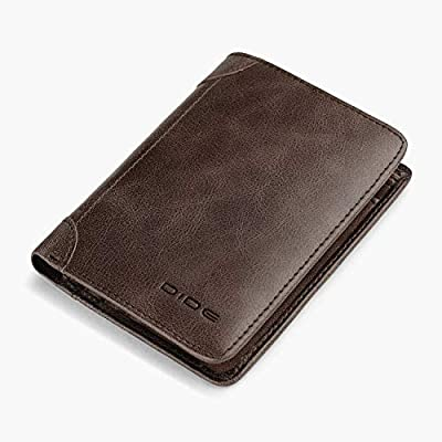 Wallet for Men Slim Front Pocket Bifold Genuine Leather Wallet
