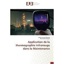Application de la thermographie infrarouge dans la Maintenance