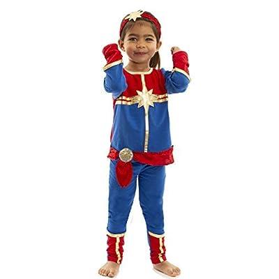 Marvel Baby Girls Costume T-Shirt and Leggings Set: Clothing