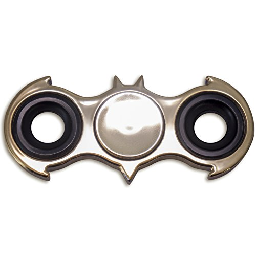 Spinner Fidget Toy Hand Batman With Bearing Finger Gyro Super Hero Custom Shaped Bat Stress Reducer Relieve Anxiety Boredom And EDC Gold