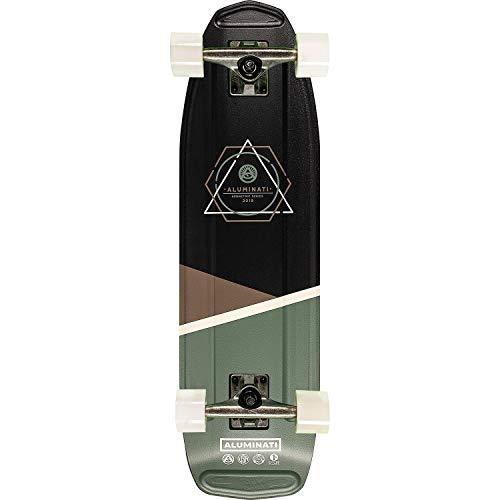 Aluminati Skateboards Oblique Higgs Cruiser Complete Skateboard – 8.12″ x 28″