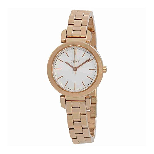DKNY Women's 'Ellington' Quartz Stainless Steel Casual Watch, Color Rose Gold-Toned (Model: NY2592)