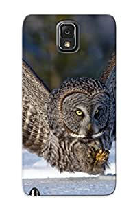 New Design Shatterproof D8ff96c6656 Case For Galaxy Note 3 (owl ) For Lovers