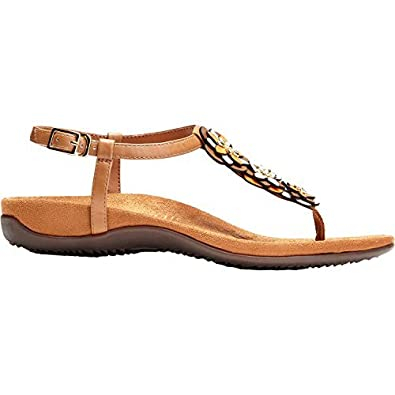 b11084f42bc6 Vionic Womens Paulie T-Strap Sandal