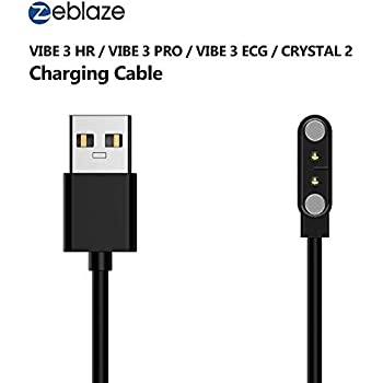 LayOPO Zeblaze Smart Watch Charger,Portable Magnetic Charger with USB Charging Cable Cord, Compatible with Crystal 2 & Vibe 3 HR & Vibe 3 Pro & Vibe 3 ...
