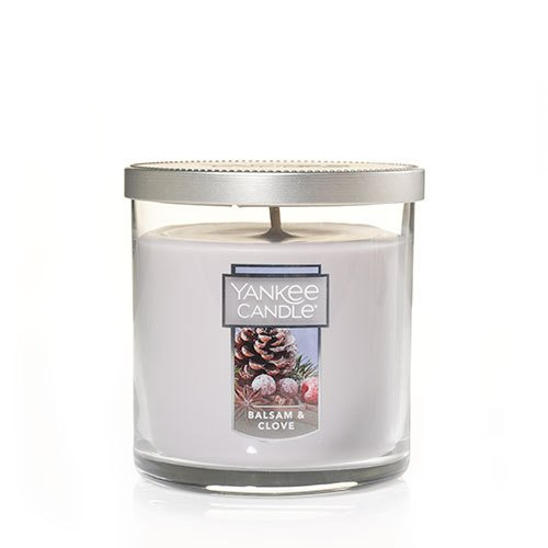 Yankee Candle Balsam & Clove Small Tumbler Candle, Festive Scent Yankee Candle Company