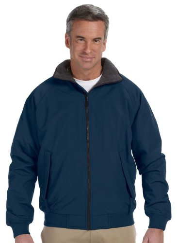 Devon And Jones Classic Jacket (Devon & Jones Men's Three-Season Classic Jacket, XL, NAVY)
