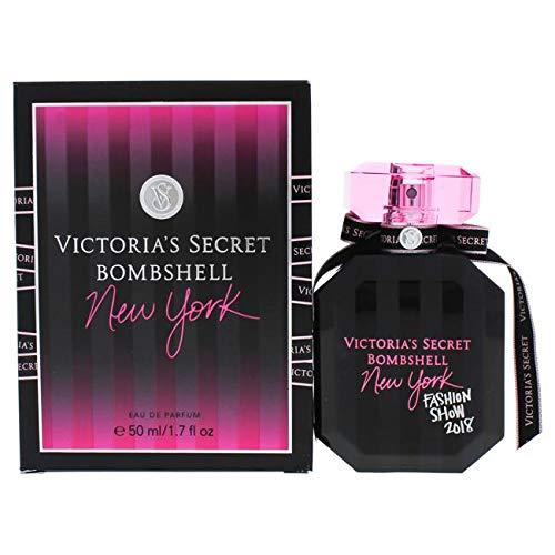 Victoria's Secret Bombshell New York | Perfume with notes of carambola, lemon, bergamot, camelia, ice, night blooming jasmine, madagascar vanilla