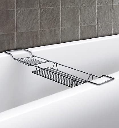 Duschy Baño Bandeja para Bañera Puente para Bañera Bañeras Estantería Bandeja para Bañera Bañeras Almohadilla