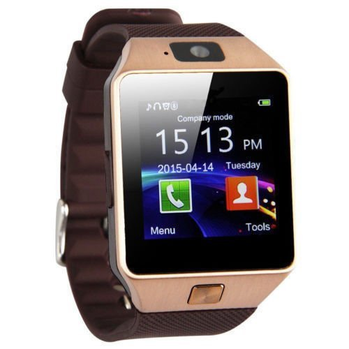 Bluetooth Smart Watch Phone Mate GSM SIM For Android iPhone Samsung HTC LG (Lg Micro Headset)