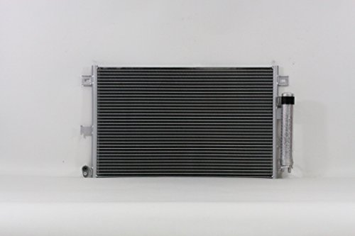 A-C Condenser - Pacific Best Inc For/Fit 3481 06-15 Mazda MX-5 Miata w/ Receiver & Dryer