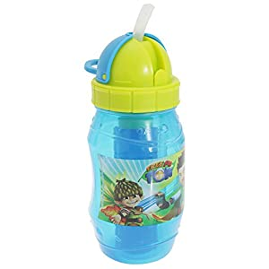 Tree Fu Tom Childrens Boys Official Plastic Water Bottle (One Size) (Blue/Lime Green)